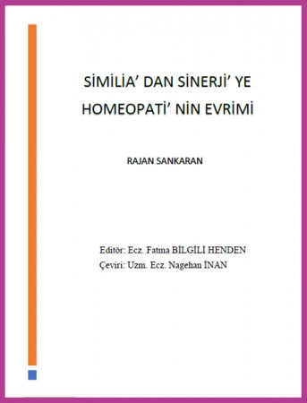 Similia'dan Sinerji'ye Homeopati'nin Evrimi